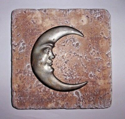 "plaster cement heart plastic travertine tile mold 6/"" x 6/"" x 1//3/"""