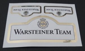 Fan-Aufkleber Warsteiner Team DTM Motor Sports Beer Brewery Postcard