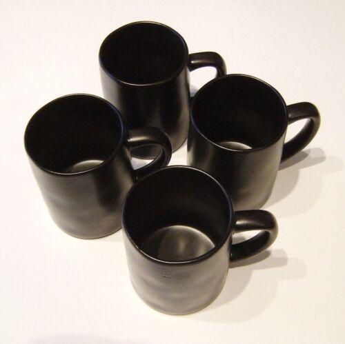 4 Hearth & Hand Magnolia Black Stoneware Mugs Cups 14 oz SOLD OUT Farmhouse NWT