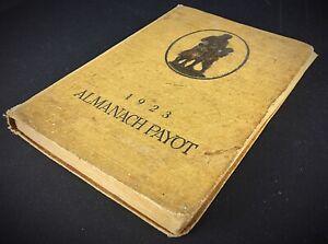 Rare-Livre-Ancien-almanach-Payot-1923-agenda-de-poche-de-la-jeunesse