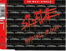 SLADE - Radio wall of sound CD SINGLE 3TR Glam Rock 1991 Europe (POLYDOR)