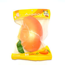 Licensed Colossal Areedy Squishy Mango Super Slow Rising Scented Authentic Toys