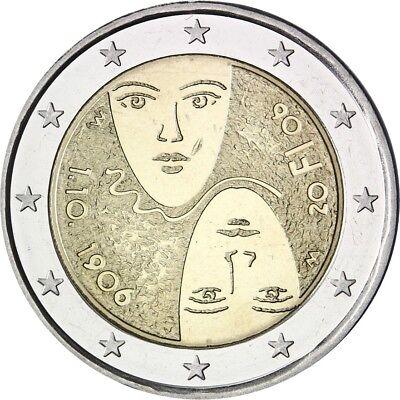 "Finland 2 euro 2006 /""Universal Suffrage/"" BiMetallic UNC"