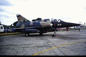 4-536-2-SABCA-Mirage-5BD-C-N-209-Belgium-Air-Force-BD-09-Kodachrome-SLIDE