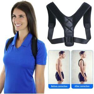 Réglable Posture Correcteur Dos Épaule Soutien correct Brace Ceinture Hommes Femmes