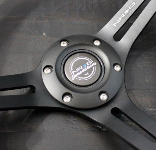 NRG SHORT HUB QUICK RELEASE STEERING WHEEL RS-2.1CG Toyota Lexus IS GS SC