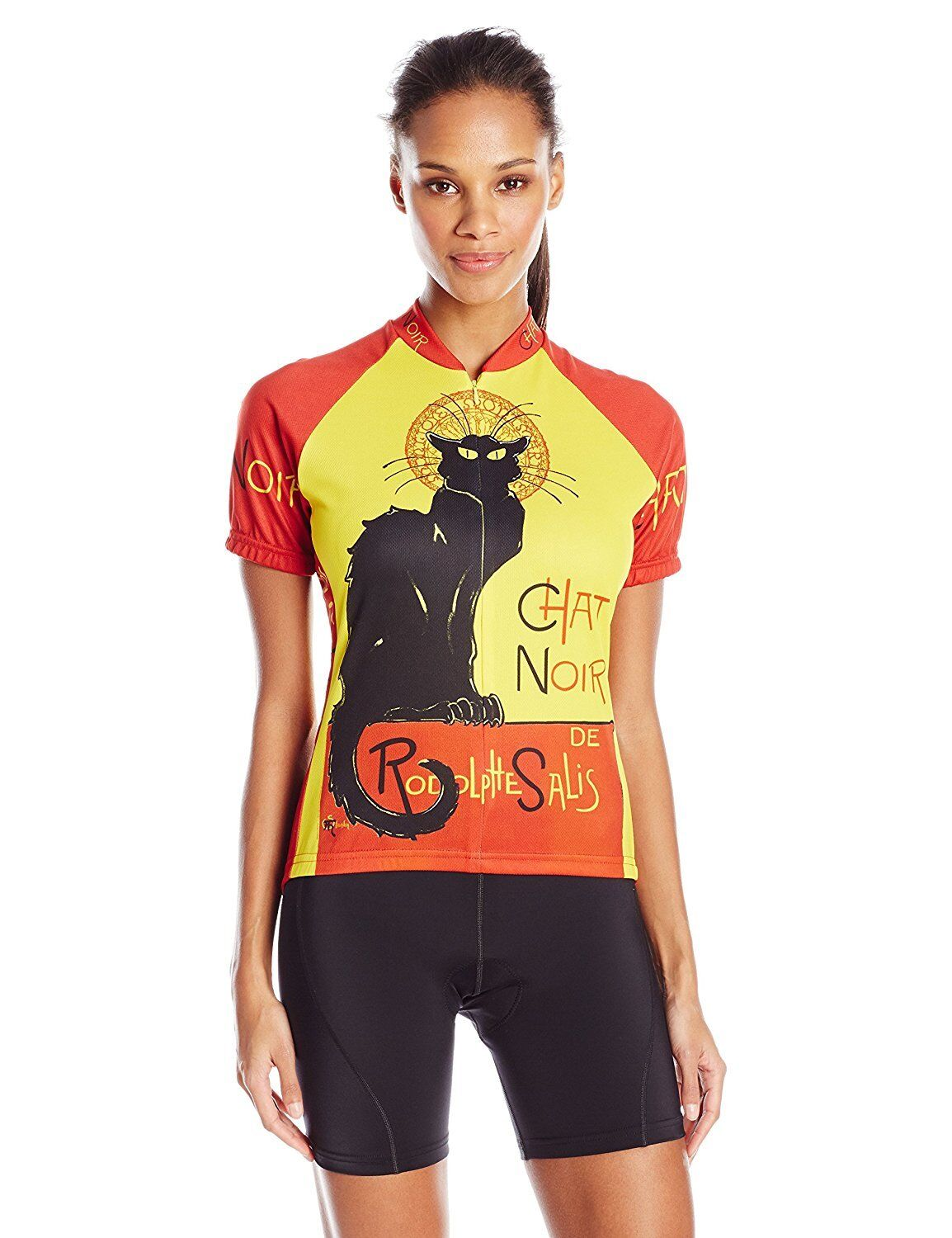BDI Women's Chat black Cycling Jersey