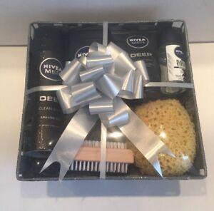 Image Is Loading Valentine Birthday Gift Basket Hamper For Him Mens