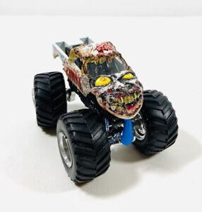 Hot Wheels Monster Jam 1 64 Monster Truck Zombie Tb4 Ebay