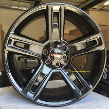 "24"" GMC Yukon Denali Wheels Rims TIRES Chevy Silverado Sierra Tahoe Gloss Black"