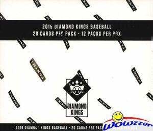 2019-Panini-Diamond-Kings-Baseball-Factory-Sealed-JUMBO-FAT-Pack-Box-240-Cards