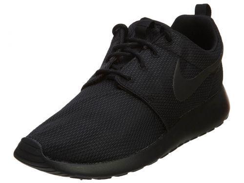 NIKE Womens Nike Roshe One Same Same Same As 844994-001 511882-096 Black Size 7 f65fa1