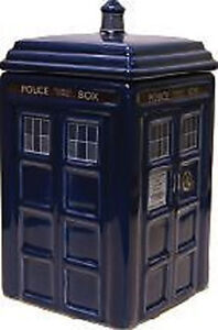 *NEW IN BOX* Dr Doctor Who Tardis Shaped Ceramic Money Box Bank - Coin Safe