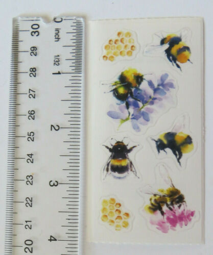 Strip of Stickers by Paper House StickyPix BEES
