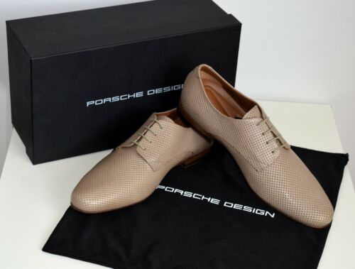 PORSCHE Design Business Scarpe da uomo in pelle Torino Beige Tg 42 UK 8 US 9