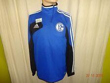 FC Schalke 04 Adidas Spieler Champions League Training Zipper/ Jacke Gr.S- M TOP