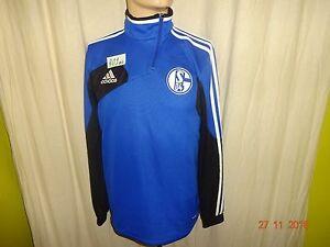 FC-Schalke-04-Adidas-Spieler-Champions-League-Training-Zipper-Jacke-Gr-S-M-TOP