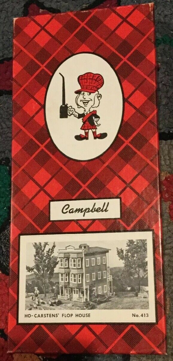Campbell Scale Modellls Autostens Flop haus  413 HO New Old Stock Modelll USA NIB