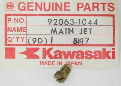 NOS KAWASAKI 79-82 KZ1300 CARBURETOR MAIN JET NOZZLE WASHER PART# 16034-001