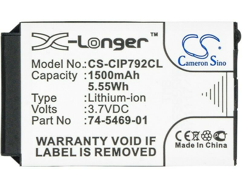 Cameron SinoCordless Phone BatteryCS-CIP792CL for CISCO 7026G etc. 1332