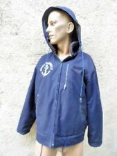MARINE NATIONALE : VERITABLE BLOUSON DE MER BLEU  / NAVY DECK JACKET VINTAGE