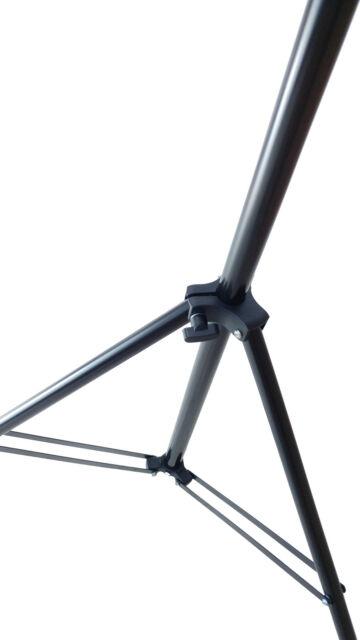 DynaSun FS9308 125-300cm Hintergrundsystem Teleskop Stange x Stativ Hintergrund