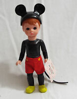 Madame Alexander Mickey Mouse Boy Doll Mcdonald's 2004 5 1/4 Tall With Tag