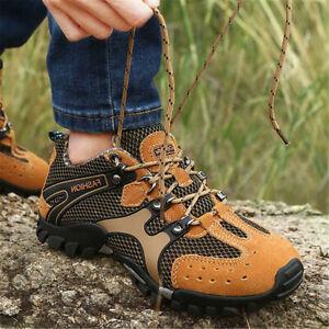 US-Men-039-s-Sport-Shoes-Hiking-Trail-Trekking-Athletic-Water-Fisherman-Mesh