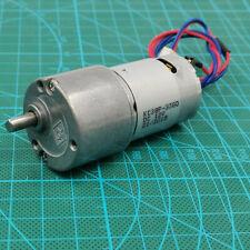 33mm Dc 6v 9v 12v 36rpm Slow Speed Large Torque Electric Micro Metal Gear Motor