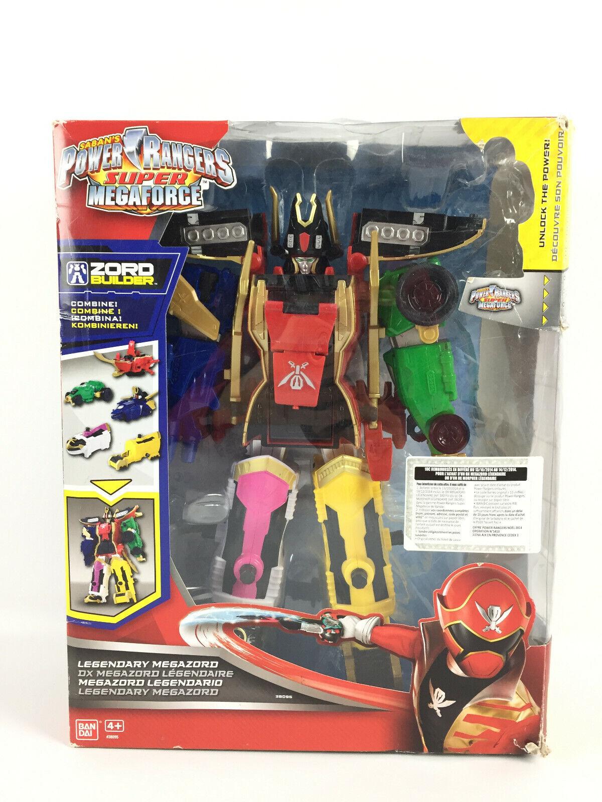 Power Rangers Super Megaforce Legendaire DX Megazord   Figurine Robot Legendary