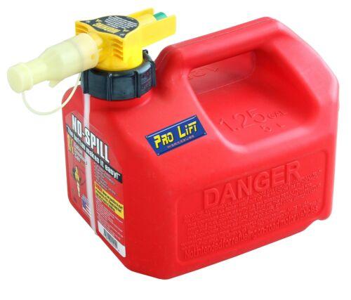 No Spill Kanister 5L Benzin Diesel Reserve Ersatz Kraftstoff Einfüllsystem 02340