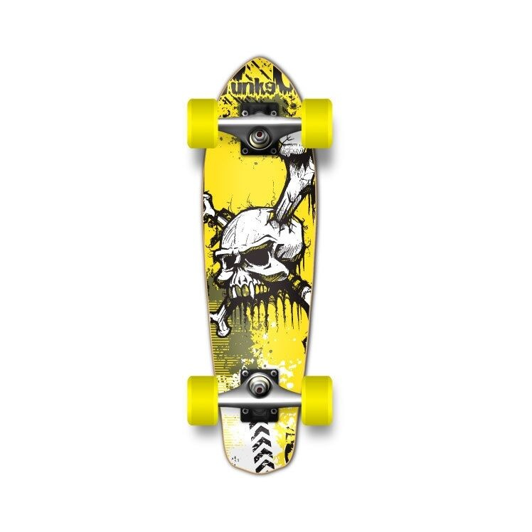 Yocaher Micro Cruiser YSkull Complete   famous brand