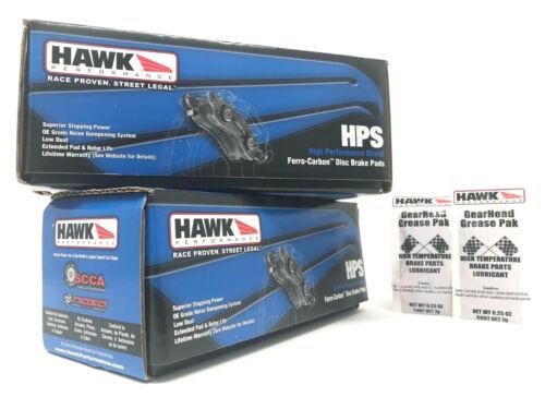 Hawk HPS Front Rear Brake Pads Fits 2014-16 Corvette Z51 Stingray C7 Chevrolet