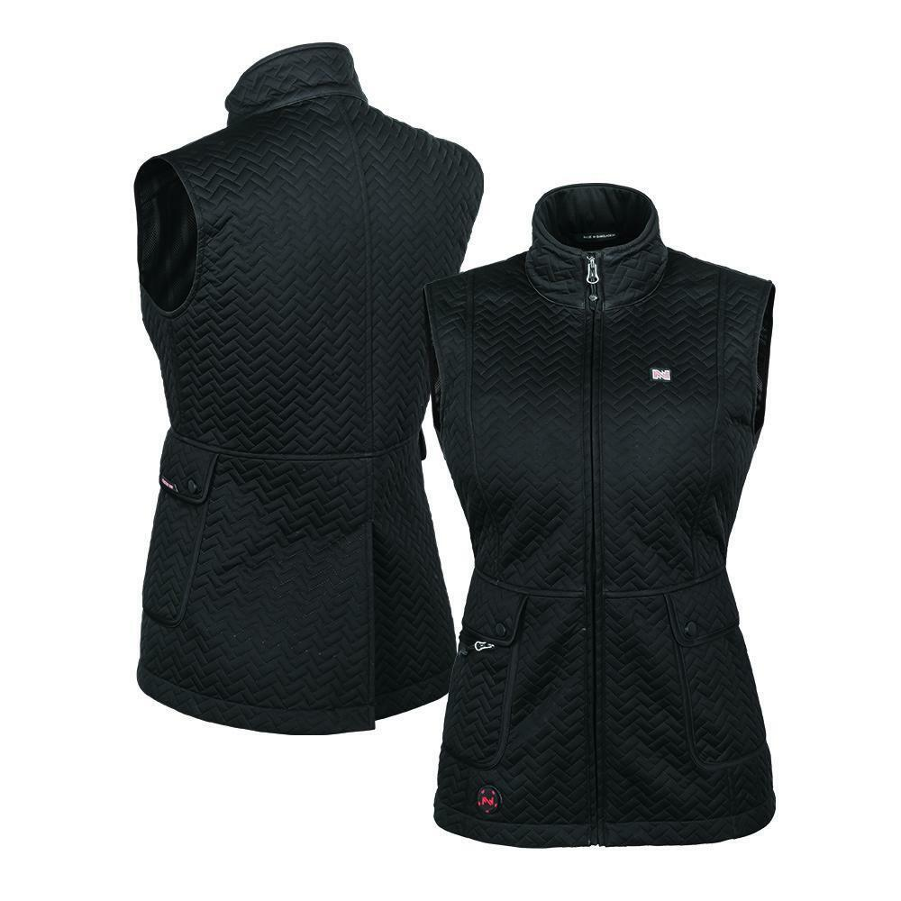 MOBILE WARMING WOMEN'S CASCADE HEATED VEST  WITH 7.4V BATTERY