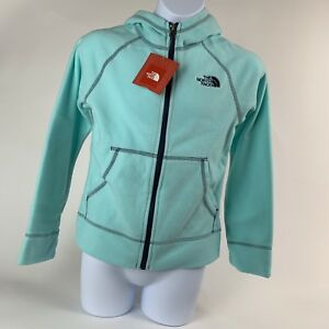 85170bf15d04 Image is loading GIRLS-The-North-Face-Fleece-Full-Zip-Hoodie-