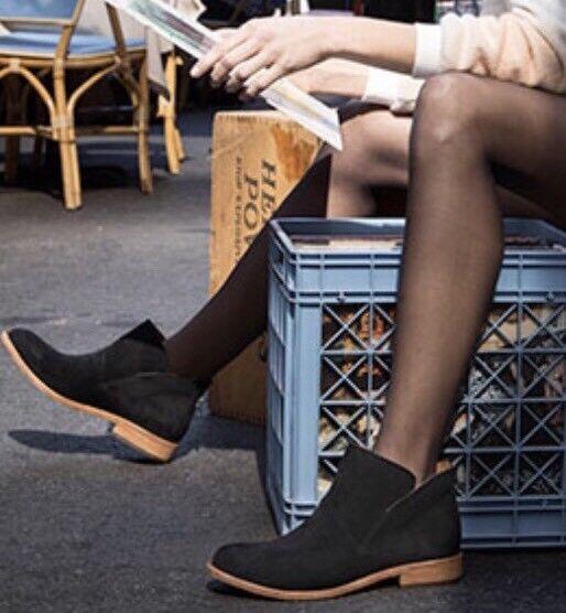 KORK-EASE 'Ryder' Ankle Bootie SZ 10M Black Suede~$190