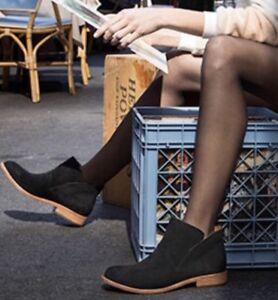 f01937299da Details about KORK-EASE 'Ryder' Ankle Bootie SZ 7M Black Suede~$190