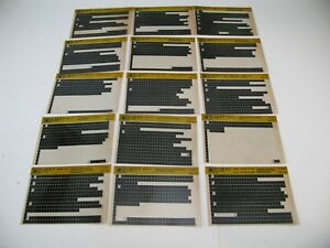 Chevy-S10-91-92-93-94-S-T-Microfiche-Light-Truck-Parts-21-Cards-Catalog-1994-M