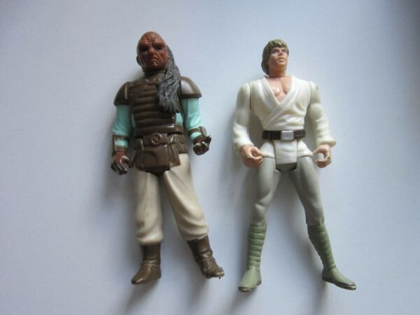 Star Wars Kenner Figure Luke Sky Walker E Jabbers Guard Usato
