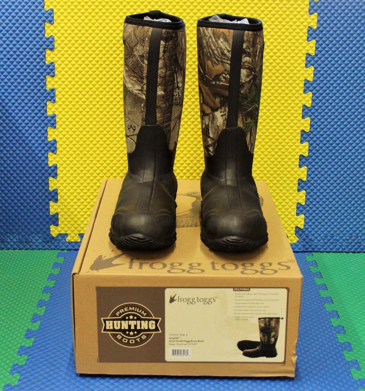 FROGG TOGGS Amphib  5mm Mudd Hogg Knee Boot Realtree XTRA 2515959 CHOOSE SIZE  new listing