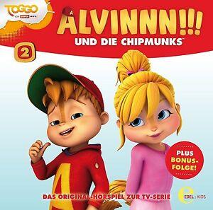 ALVINNN-UND-DIE-CHIPMUNKS-2-TV-SERIE-GEMEINSAM-SIND-WIR-STARK-CD-NEU