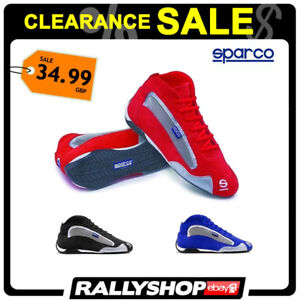 Sparco-X-Light-K-shoes-Sport-Boots-Racewear-Rally-Race-Racing-CLEARANCE-SALE