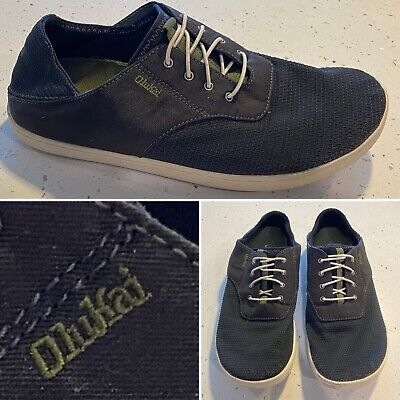 OluKai Mens Nohea Moku Black//Black sneakers-and-athletic-shoes 9.5 M