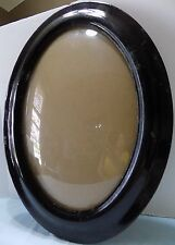Antique Oval Picture Frame  Convex Bubble Glass  (Bx-7)