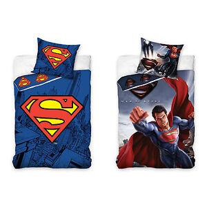 Superman-Kinderbettwaesche-Babybettwaesche-Kinder-Bettwaesche