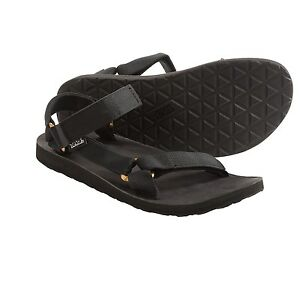 57516389a TEVA MEN S ORIGINAL UNIVERSAL LUX SANDALS BLACK SIZE 14 NIB ...