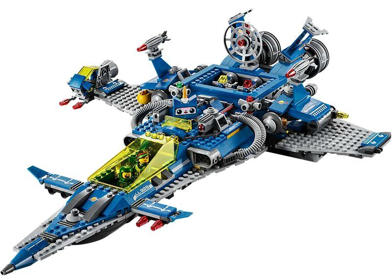 LEGO® The Lego Movie Movie Movie 70816 Benny's Spaceship NEU OVP NEW MISB NRFB 520549