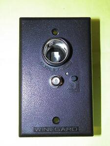 Winegard Rv 0732 Wall Plate Power Supply 12vdc 8 Amp Max