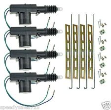 Universal Car Power Door Lock Actuator 12-Volt Motor (4 Pack) New Free Shipping