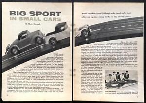 Details About Slot Car Review Aurora Strombecker 1964 Pictorial Ho 1 32 1 24